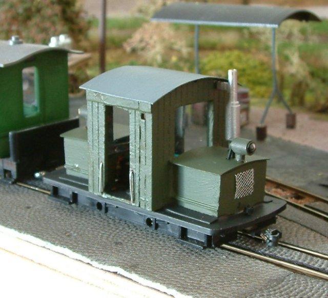 Diesellok auf der Basis von Lehmann-Gnomy - Spur 0f
