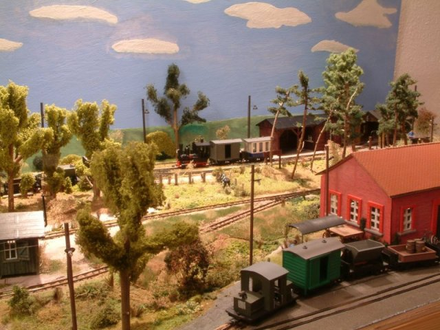 Lehmann Gnomy als Spur 0f-Modellbahn