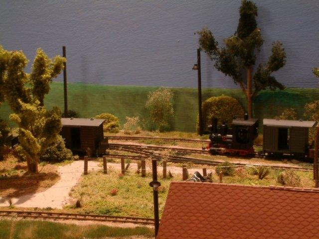 Gnomy von Lehman als Spur 0f Modellbahn