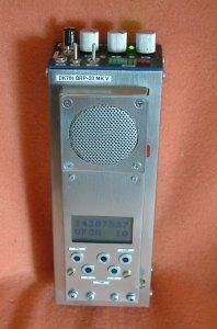 QRP SSB handheld transceiver by Peter Rachow (DK7IH) (C) 2015